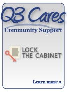 Q3 Cares Community Support - Lock the Cabinet