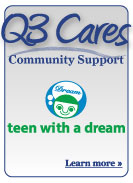 Q3 Cares Community Support - Teen with a Dream